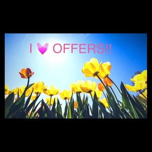 Other - I love offers! 🦋💕